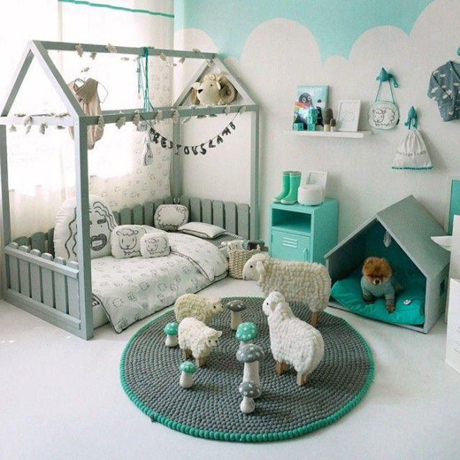 Giường gác mái - món nội thất dành riêng cho bé xinh đến ngẩn ngơ - Ảnh 19.