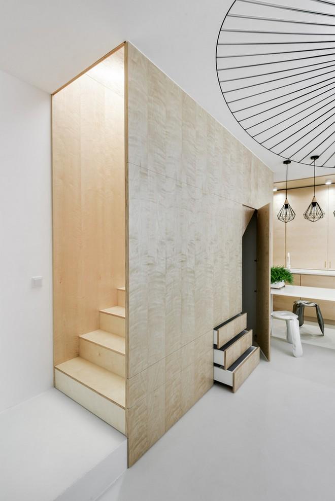 Thuốc bổ cho ngôi nhà nhỏ chính là nội thất gỗ đa chức năng - Ảnh 6.
