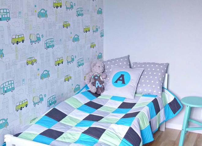 Những mẫu giấy dán tường không thể đáng yêu hơn cho phòng ngủ của bé - Ảnh 2.