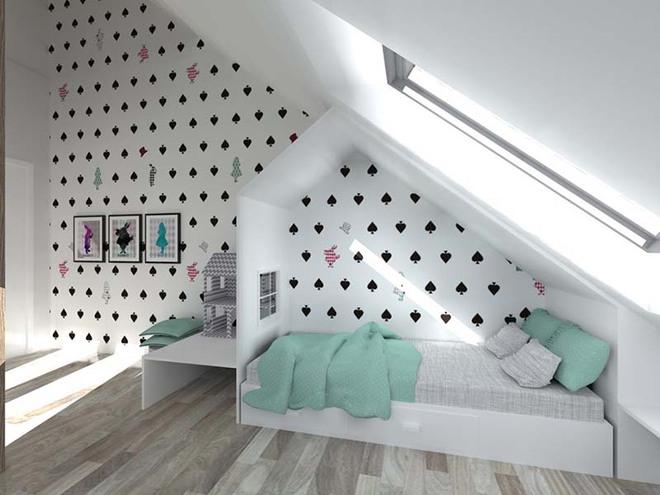Những mẫu giấy dán tường không thể đáng yêu hơn cho phòng ngủ của bé - Ảnh 6.