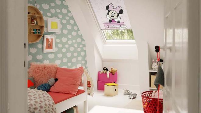 Những mẫu giấy dán tường không thể đáng yêu hơn cho phòng ngủ của bé - Ảnh 7.
