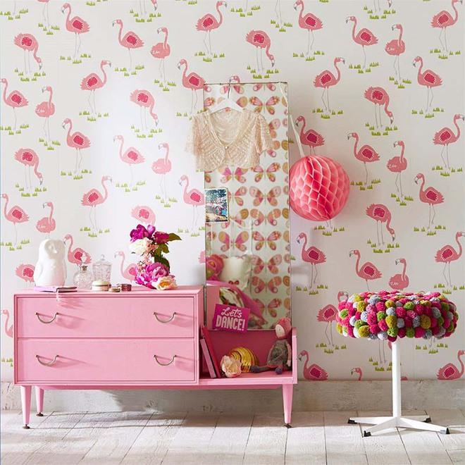 Những mẫu giấy dán tường không thể đáng yêu hơn cho phòng ngủ của bé - Ảnh 8.