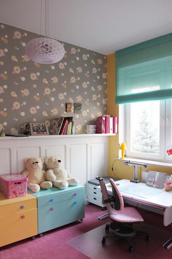 Những mẫu giấy dán tường không thể đáng yêu hơn cho phòng ngủ của bé - Ảnh 10.