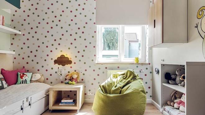 Những mẫu giấy dán tường không thể đáng yêu hơn cho phòng ngủ của bé - Ảnh 11.