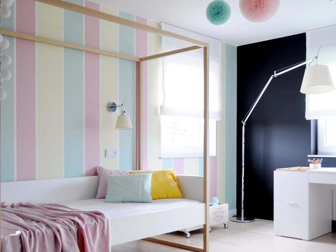 Những mẫu giấy dán tường không thể đáng yêu hơn cho phòng ngủ của bé - Ảnh 13.