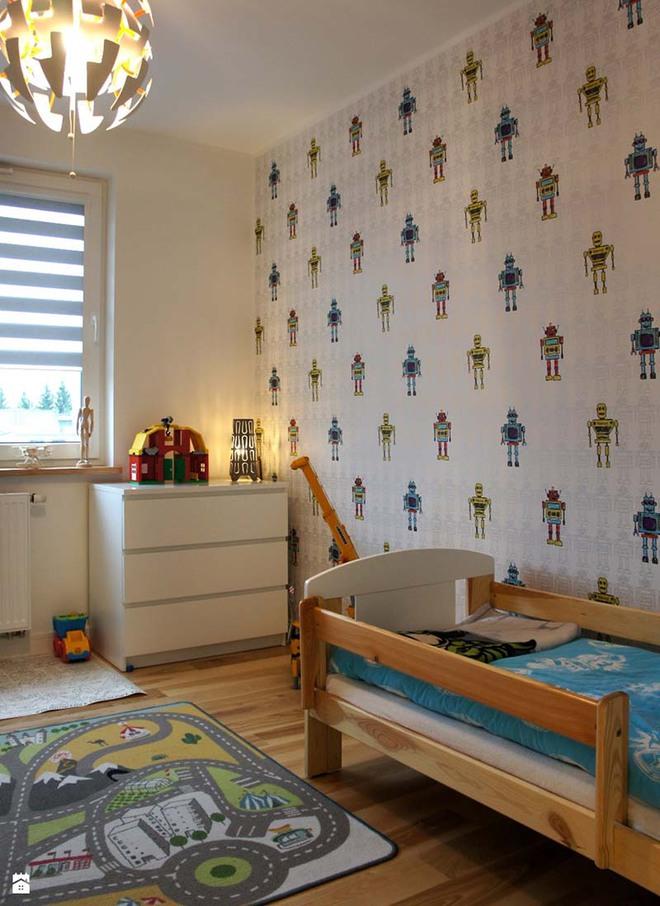 Chọn mua giấy dán tường hiệu quả cho phòng ngủ trẻ em