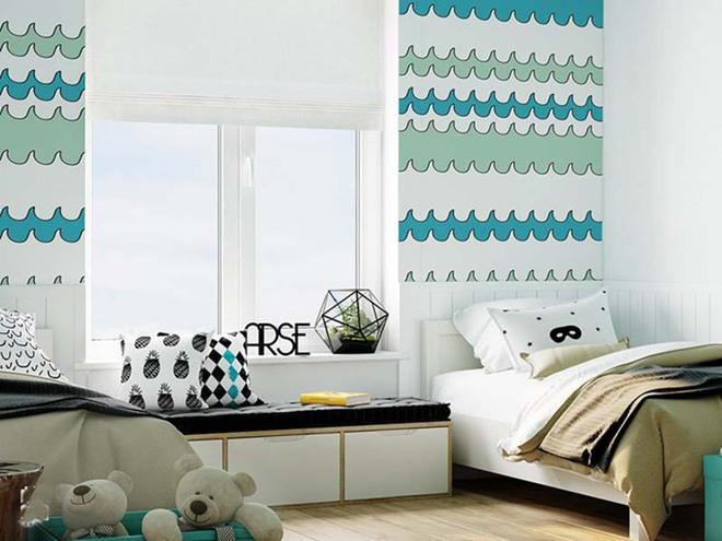 Những mẫu giấy dán tường không thể đáng yêu hơn cho phòng ngủ của bé - Ảnh 16.