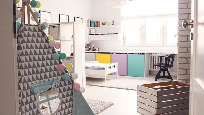 Cách áp dụng phong cách Scandinavian chuẩn không cần chỉnh cho không gian của bé - Ảnh 4.