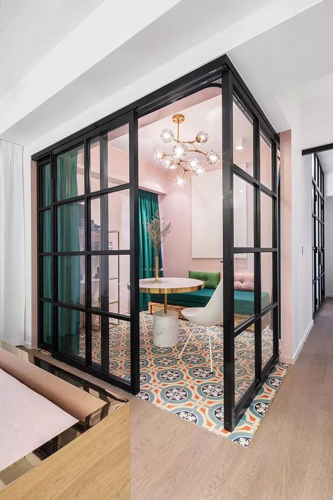 Lâu lắm rồi mới lại thấy một căn hộ sử dụng gam màu hồng pastel khéo léo và đẹp mắt đến thế - Ảnh 2.