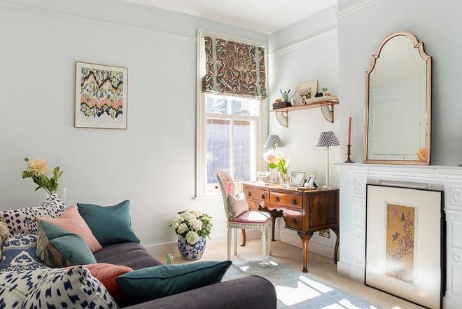 Phòng làm việc đẹp dịu dàng và bình yên với gam màu pastel khiến ai nhìn cũng yêu - Ảnh 4.