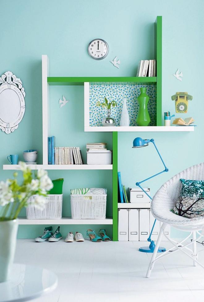 Phòng làm việc đẹp dịu dàng và bình yên với gam màu pastel khiến ai nhìn cũng yêu - Ảnh 7.