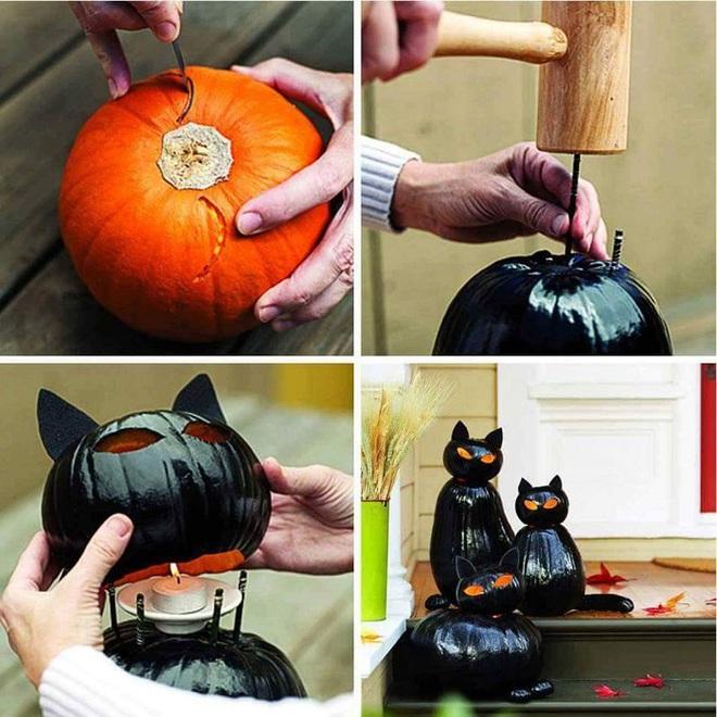 Mách bạn 15 ý tưởng trang trí nhà đón Halloween vô cùng thú vị - Ảnh 14.