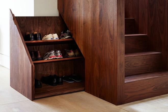 10 ý tưởng thông minh tạo kệ giày dép siêu tiết kiệm không gian - Ảnh 8.