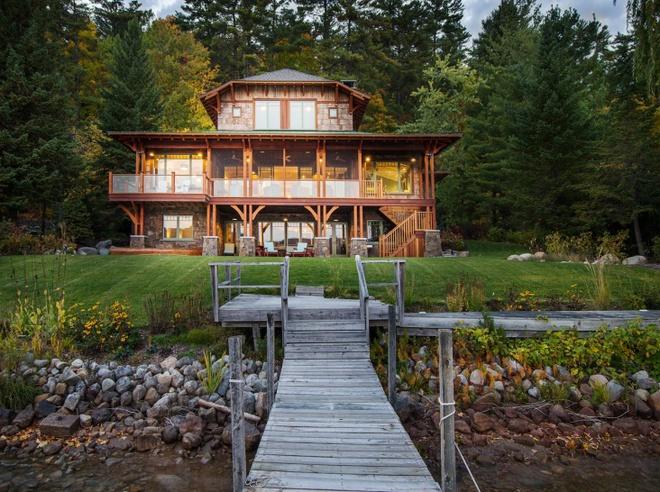Cùng ngắm 7 ngôi nhà với lối bài trí ấn tượng, điển hình cho phong cách thiết kế nhà kiểu Mỹ  - Ảnh 9.