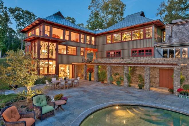 Cùng ngắm 7 ngôi nhà với lối bài trí ấn tượng, điển hình cho phong cách thiết kế nhà kiểu Mỹ  - Ảnh 11.