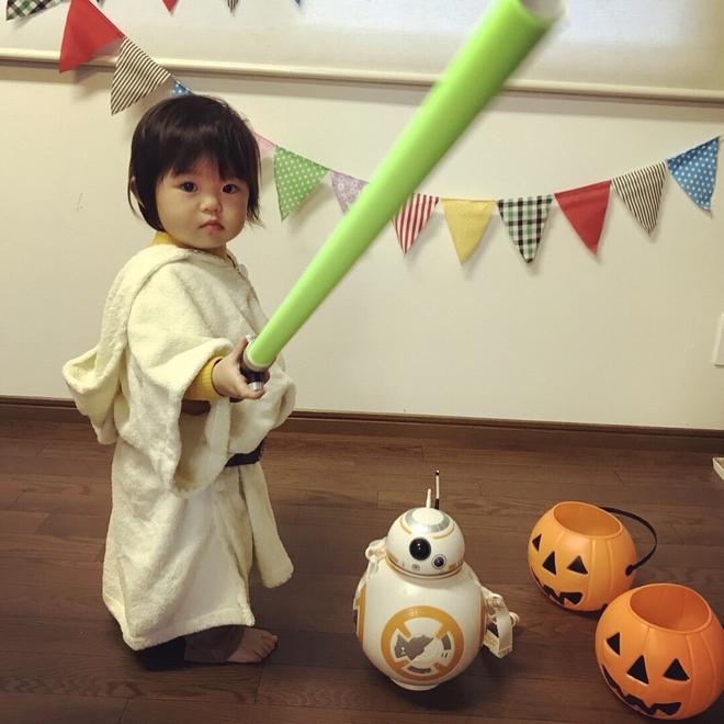 Loạt ảnh hóa trang Halloween hoành tráng nhất mạng xã hội của bé gái Nhật và những người bạn thú cưng - Ảnh 19.