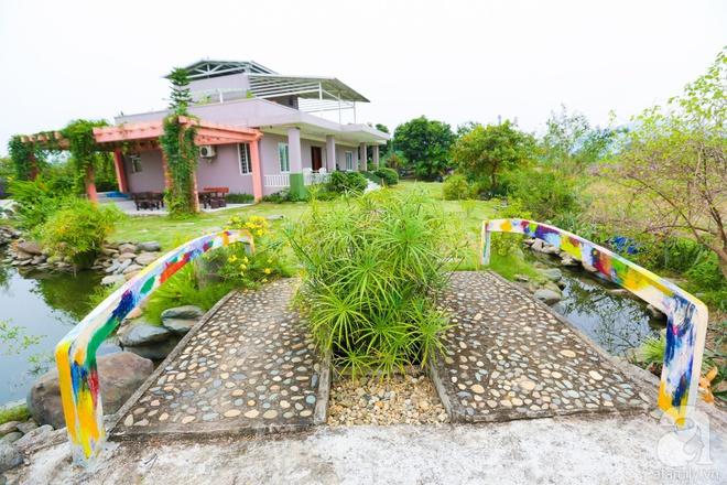 Ngôi nhà vườn xanh mát bóng cây của nữ giảng viên đại học chỉ cách Hà Nội 30 phút chạy xe - Ảnh 6.