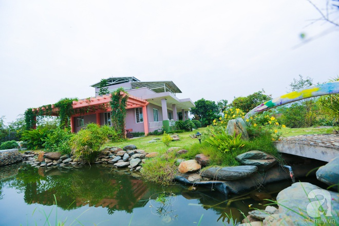 Ngôi nhà vườn xanh mát bóng cây của nữ giảng viên đại học chỉ cách Hà Nội 30 phút chạy xe - Ảnh 13.