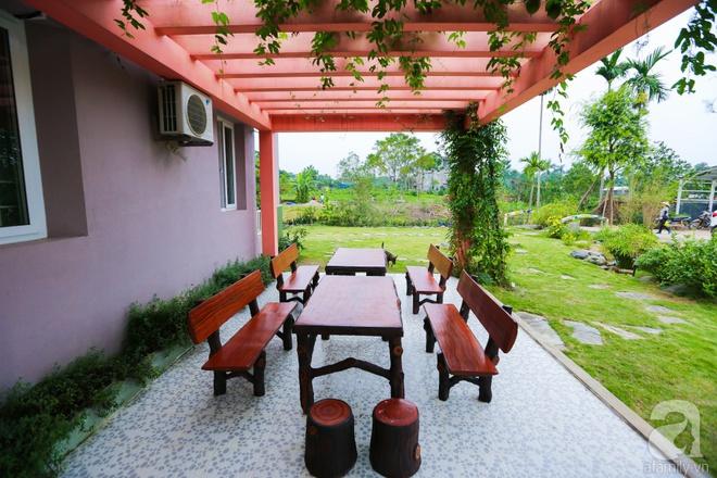 Ngôi nhà vườn xanh mát bóng cây của nữ giảng viên đại học chỉ cách Hà Nội 30 phút chạy xe - Ảnh 23.