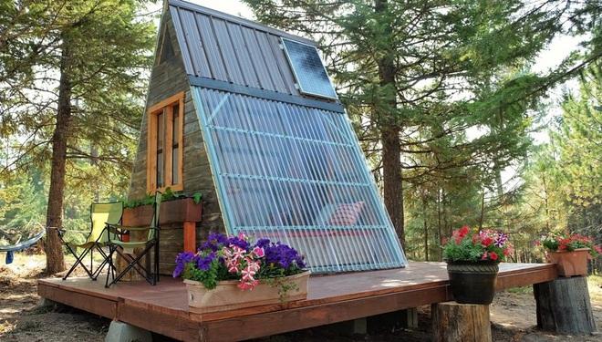 Đôi vợ chồng tự tay xây dựng một ngôi nhà nhỏ vô cùng xinh xắn với giá thành chưa tới 18 triệu đồng - Ảnh 2.