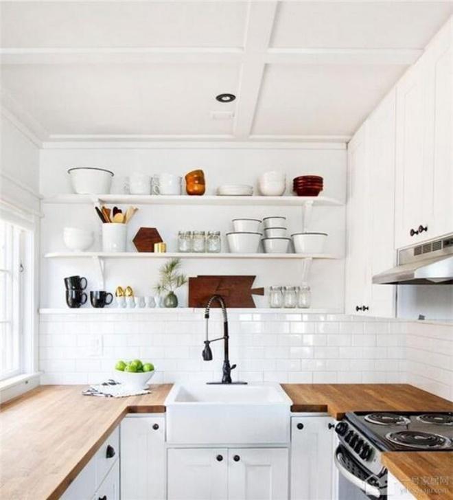 Ngắm những căn bếp rộng chưa đến 3m² nhưng được thiết kế không thể hợp lý hơn - Ảnh 5.