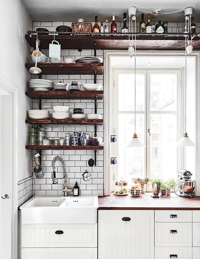 Ngắm những căn bếp rộng chưa đến 3m² nhưng được thiết kế không thể hợp lý hơn - Ảnh 6.