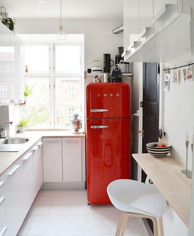 Ngắm những căn bếp rộng chưa đến 3m² nhưng được thiết kế không thể hợp lý hơn - Ảnh 9.