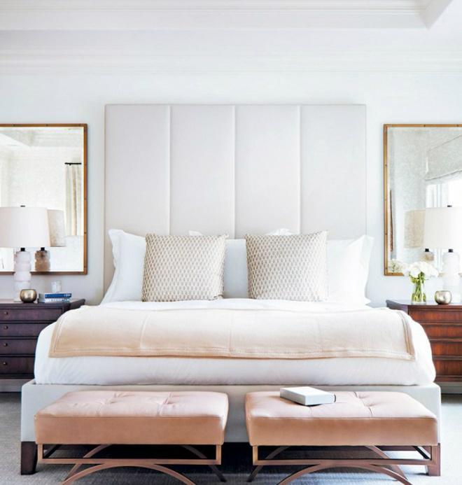 Gợi ý những cách trang trí đầu giường để phòng ngủ đẹp như mơ - Ảnh 2.