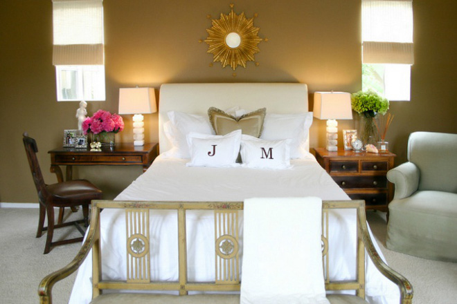 Gợi ý những cách trang trí đầu giường để phòng ngủ đẹp như mơ - Ảnh 3.
