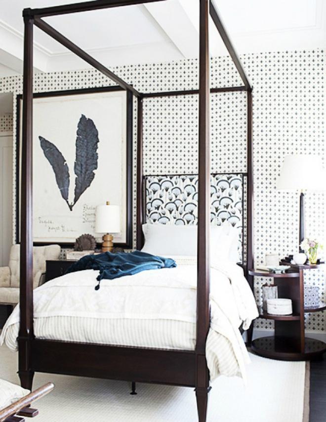 Gợi ý những cách trang trí đầu giường để phòng ngủ đẹp như mơ - Ảnh 4.