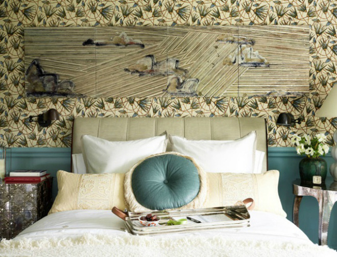 Gợi ý những cách trang trí đầu giường để phòng ngủ đẹp như mơ - Ảnh 5.