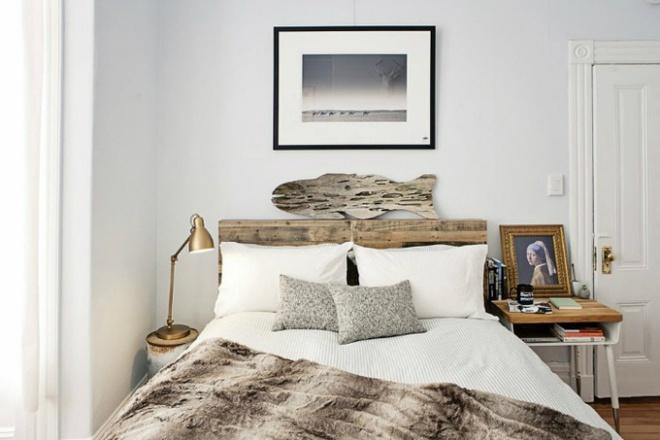 Gợi ý những cách trang trí đầu giường để phòng ngủ đẹp như mơ - Ảnh 9.