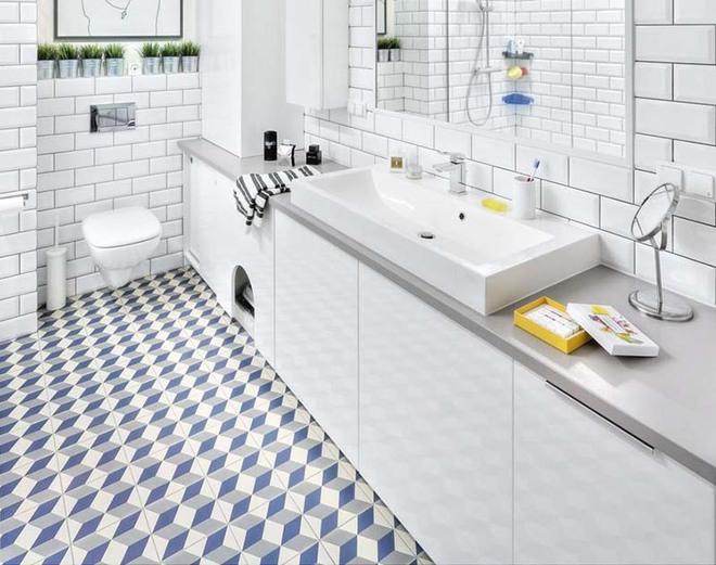 Cách để làm cho phòng tắm gia đình không còn nhàm chán - Ảnh 1.