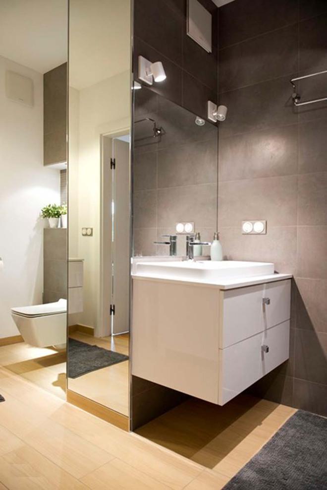 Đèn led – Mẫu đèn lý tưởng để làm bừng sáng phòng tắm gia đình - Ảnh 6.