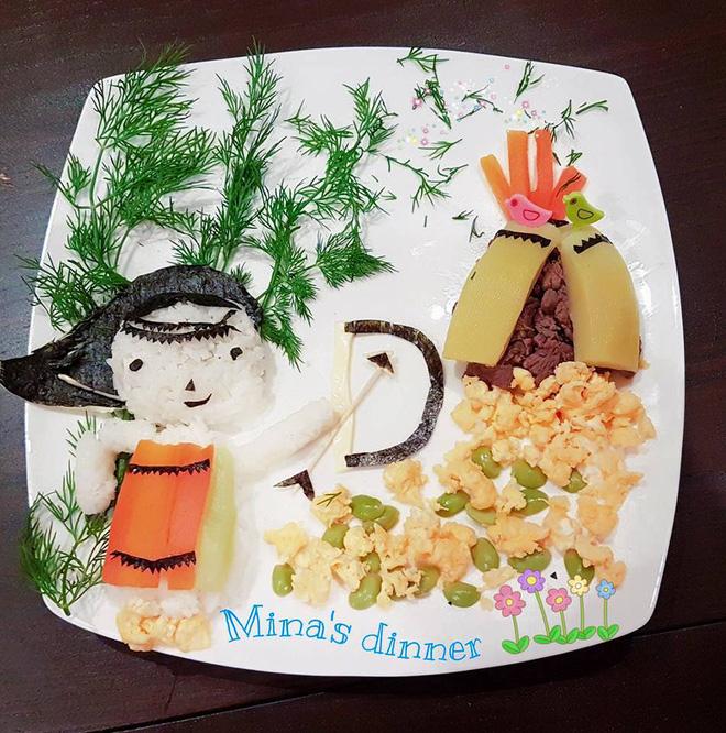 Mẹ Việt ở Úc<b style=color:#FA5742><i> hướng dẫn </i></b>các bước đơn giản làm cơm bento cho bé ăn thun thút - Ảnh 5.
