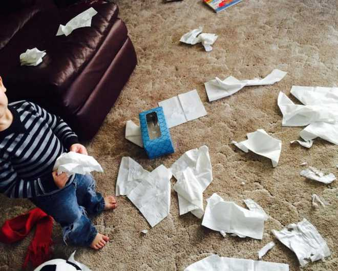 Muôn vàn cảnh dở khóc dở cười chỉ những bố mẹ có con nhỏ mới thấu - Ảnh 11.
