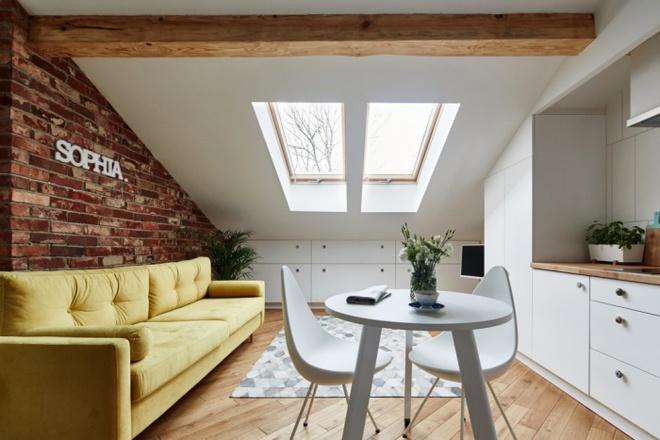 Khó có thể tin được căn hộ 19m² của đôi vợ chồng trẻ này lại đầy đủ tiện ích và vừa mắt đến thế - Ảnh 2.