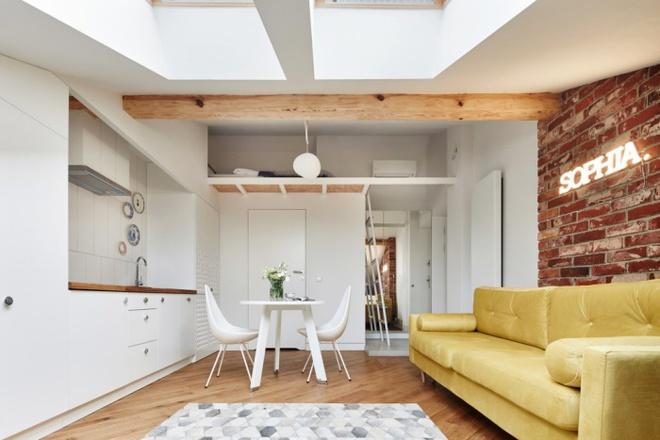 Khó có thể tin được căn hộ 19m² của đôi vợ chồng trẻ này lại đầy đủ tiện ích và vừa mắt đến thế - Ảnh 6.