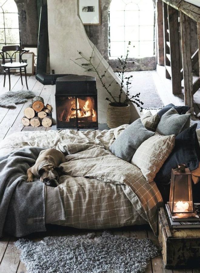 11 mẫu chăn ga gối bằng vải linen mềm mại và ấm áp nên có trong phòng ngủ vào mùa thu đông - Ảnh 1.