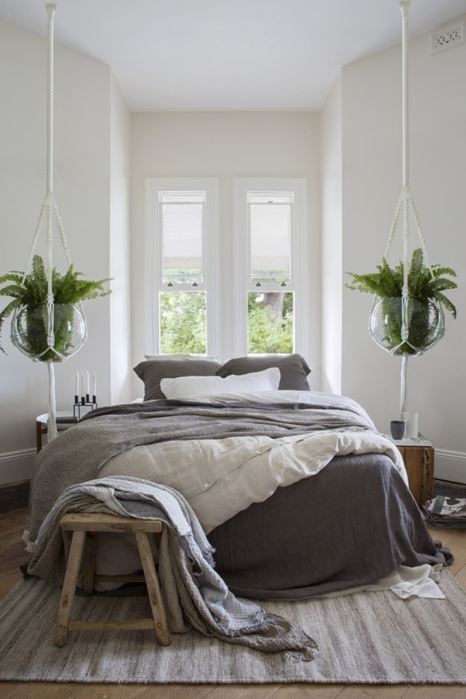 11 mẫu chăn ga gối bằng vải linen mềm mại và ấm áp nên có trong phòng ngủ vào mùa thu đông - Ảnh 7.