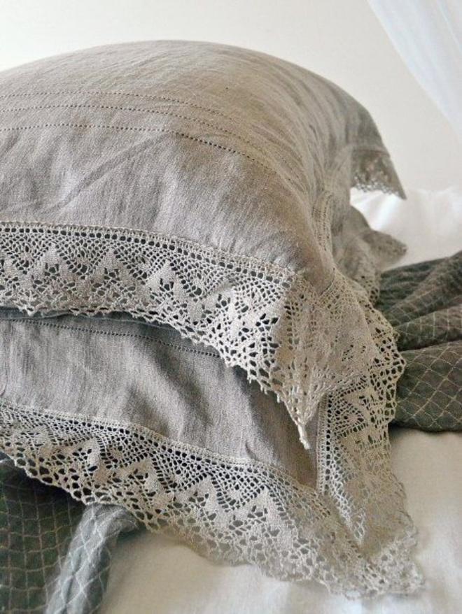 11 mẫu chăn ga gối bằng vải linen mềm mại và ấm áp nên có trong phòng ngủ vào mùa thu đông - Ảnh 8.