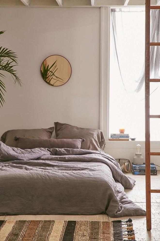 11 mẫu chăn ga gối bằng vải linen mềm mại và ấm áp nên có trong phòng ngủ vào mùa thu đông - Ảnh 10.
