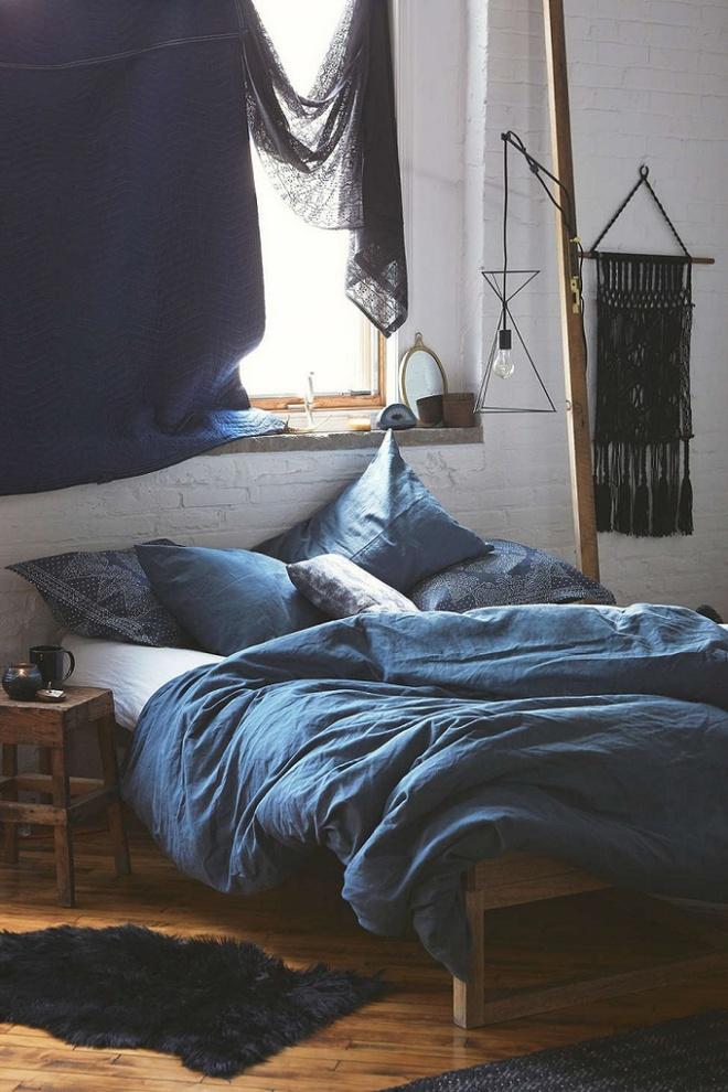 11 mẫu chăn ga gối bằng vải linen mềm mại và ấm áp nên có trong phòng ngủ vào mùa thu đông - Ảnh 11.