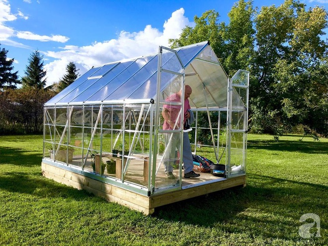 Khu vườn rộng gần 40 nghìn m² xanh tươi rau quả Việt của mẹ 3 con ở Canada - Ảnh 20.