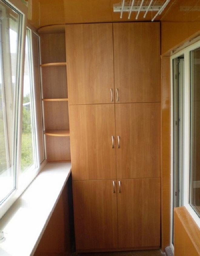Thiết kế tủ lưu trữ ở ban công chỉ với 2m² là có thể thực hiện được, bạn đã biết chưa? - Ảnh 3.