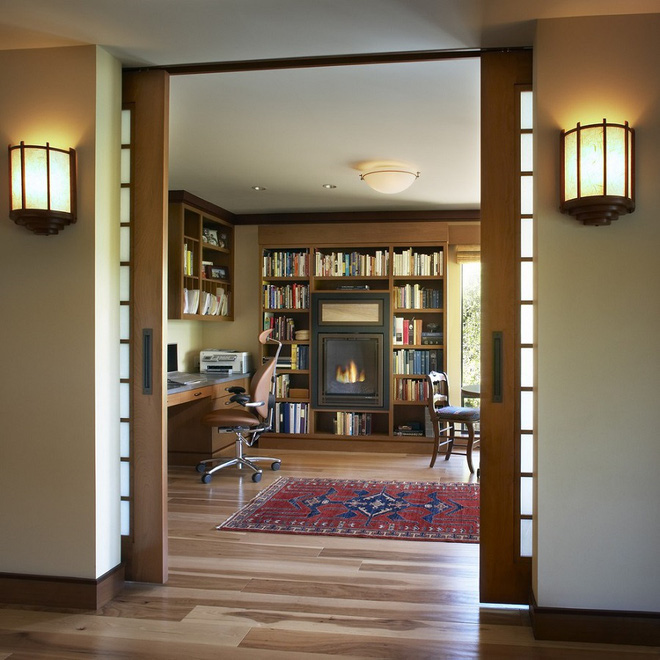 Tham khảo ngay những mẫu thiết kế cửa kéo vừa tiện lợi lại tiết kiệm diện tích cho nhà nhỏ - Ảnh 7.