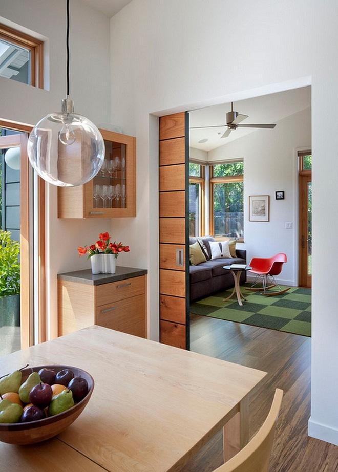 Tham khảo ngay những mẫu thiết kế cửa kéo vừa tiện lợi lại tiết kiệm diện tích cho nhà nhỏ - Ảnh 8.