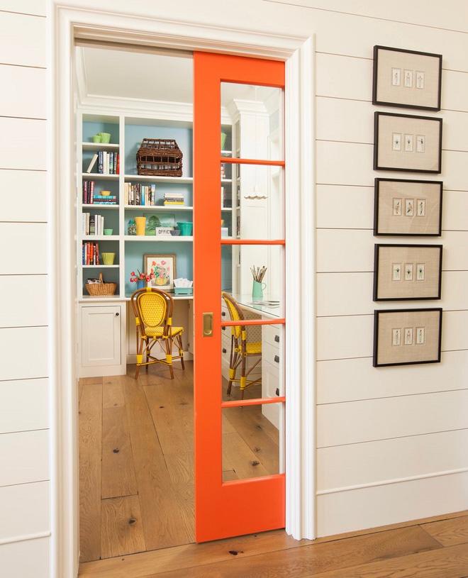 Tham khảo ngay những mẫu thiết kế cửa kéo vừa tiện lợi lại tiết kiệm diện tích cho nhà nhỏ - Ảnh 10.
