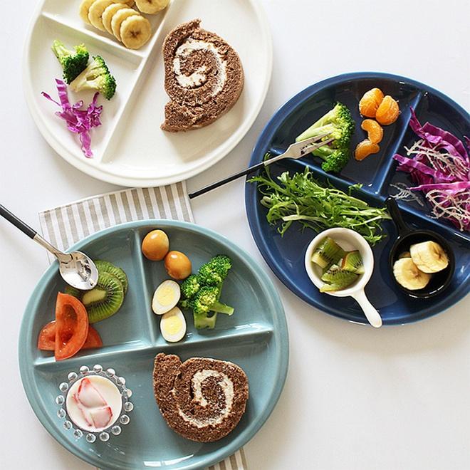Căn bếp đẹp lãng mạn như trong phim Hàn khi có sự hiện diện của những chiếc đĩa đáng yêu này