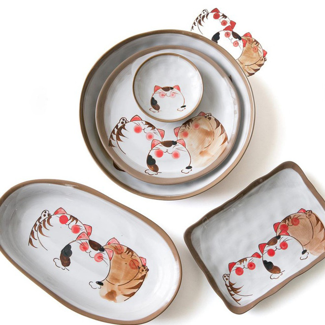 Căn bếp đẹp lãng mạn như trong phim Hàn khi có sự hiện diện của những chiếc đĩa đáng yêu này - Ảnh 5.